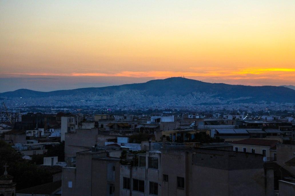 City view from Monastiraki