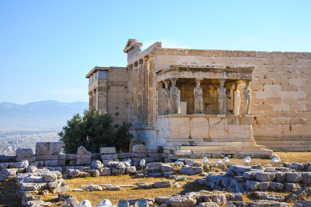 The Caryatids of the Erechtheion