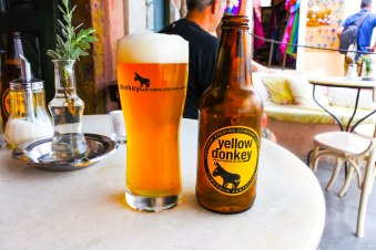 Yellow Donkey Beer
